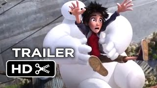 Big Hero 6 Official Trailer #1 (2014) - Disney Animation Movie HD