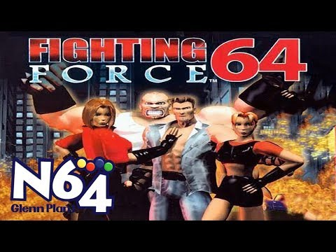 Fighting Force 64 Nintendo 64