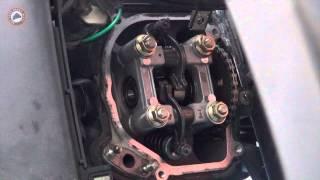 4. Ρ�θμιση βαλβίδων (Scooter valve adjustment)
