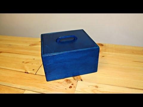 Costruire una scatola in legno Fai Da Te