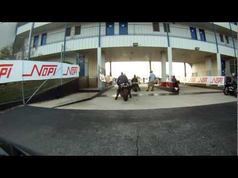 Buell 1125R and Angie Young on her ZX14R at 2012 NOPI Nationals, GoPro HDHero