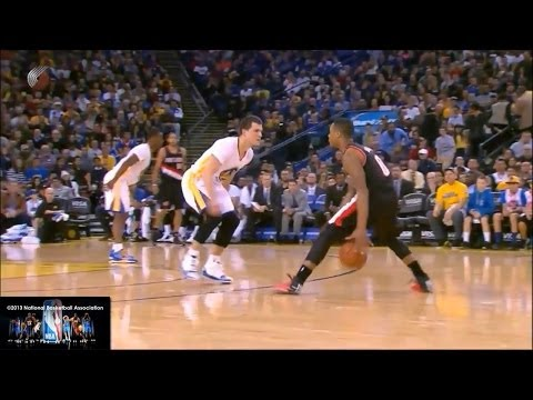 Highlights - Passing Highlights start at 8:22 Damian Lillard's jumpshots, crossovers, step back jumpers, floaters, drives, fade aways, dunks, passing... Credits to the NB...