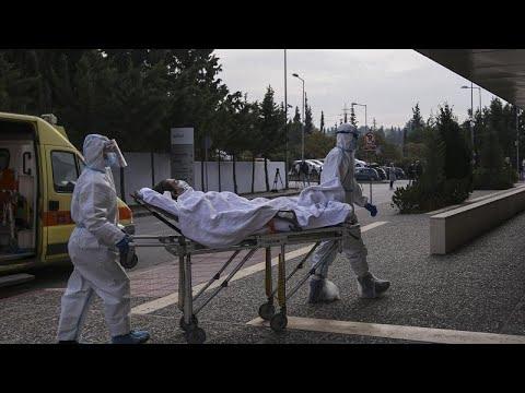 Ελλάδα – COVID-19: 89 νέοι θάνατοι και 2.186 νέα κρούσματα – 613 οι διασωληνωμένοι…
