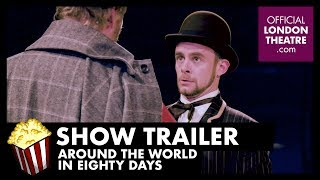 The mysterious and fabulously wealthy Phileas Fogg wagers his life's fortune that can circumnavigate the globe in just 80 days. Join Fogg and his loyal valet...