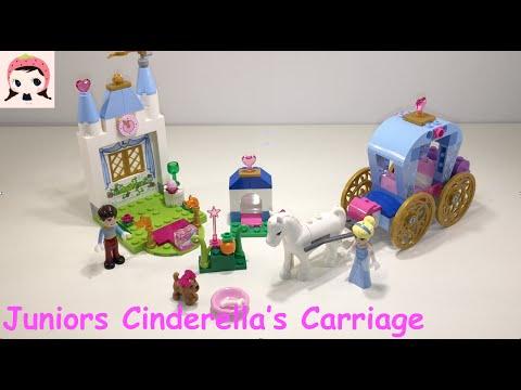Vidéo LEGO Juniors 10729 : Le carrosse de Cendrillon
