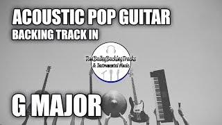 Acoustic Pop Guitar Backing Track In G Major
