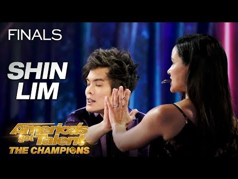Shin Lim Wows the Judges on America's Got Talent