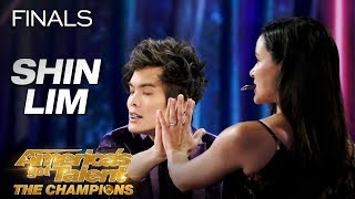 DON'T BLINK! Shin Lim Performs Epic Magic With Melissa Fumero - America's Got Talent: The Champions