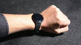 W1 bluetooth beacon wristband keychain wearable ibeacon eddystone youtube video