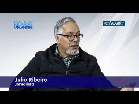 Ricardo Orlandini entrevista o jornalista Julio Ribeiro, da Editora Press Advertising.