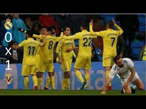 Real Madrid 0 x 1 Villarreal Melhores Momentos 13/01/18
