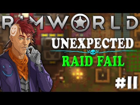 SOMETIMES RAIDS GO WRONG 😂 | RimWorld 1.0 Ep 11 - Rough Randy Modded Gameplay, Let's Play