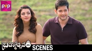 Mahesh Babu Entertains Kajal Aggarwal | Brahmotsavam Telugu Movie | Samantha | Pranitha