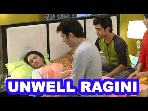Kids come over to meet unwell Ragini out of concer