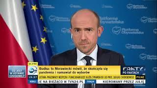 """Budka: """"Morawieckiemu słowo przepraszam nie przejdzie przez gardło"""""""