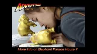 Elephant Parade House In Chiang Mai Thailand