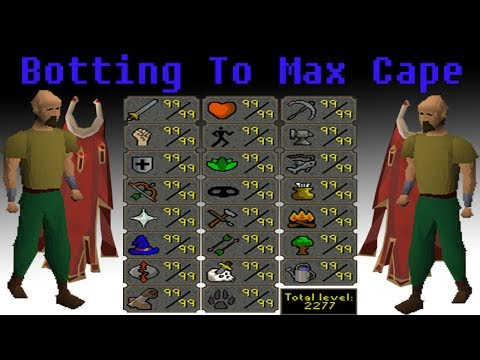 Osrs Botting To Max Cape Ep.3