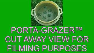 <h5>Cut Away Showing How It Works</h5><p>All types of hay can be used</p>
