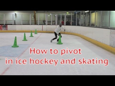 How To Pivot In Ice Hockey Power Skating – Learn to pivot forwards to backwards or forward tutorial