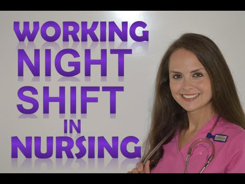 Night Shift Nurse | What It Is Like Working Night Shift In Nursing
