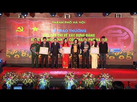 Hà Nội trao Giải báo chí về xây dựng Đảng và phát triển văn hóa
