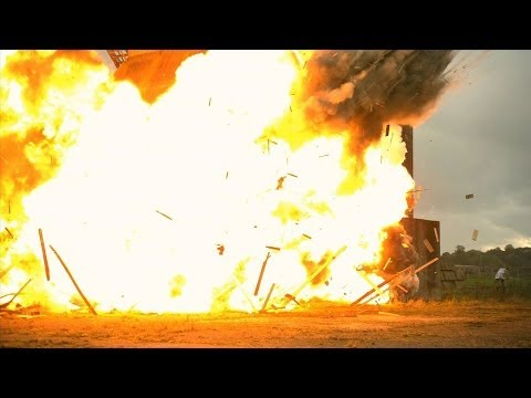 explosion - Gav and Dan celebrate the release of Battlefield 4 by setting off the biggest explosion they have ever done. Check out Battlefield 4 here - http://bit.ly/Huu...