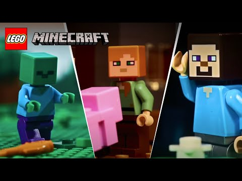 Funny movies - LEGO Stop Motion Animation Compilation - LEGO Minecraft - Funny Video 2017, 2018, 2019