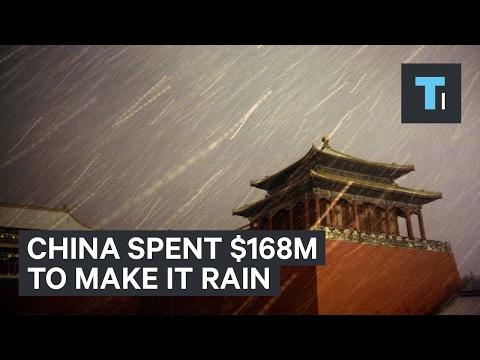 Making it Rain in China