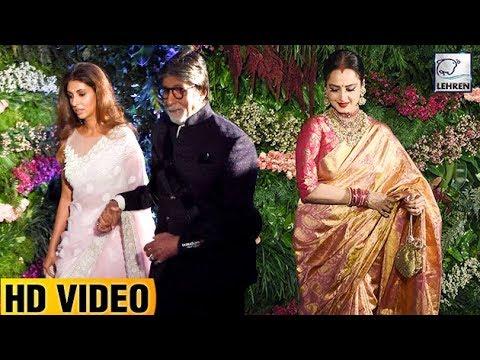 Amitabh Bachchan And Rekha CLASH At Anushka And Vi