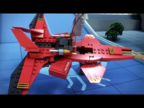 Vidéo LEGO Ninjago 70721 : Le superjet de Kai