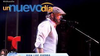 ¡Juan Luis Guerra conquistó Nueva York una vez más! | Un Nuevo Día