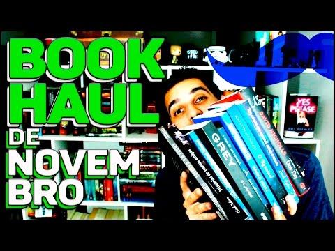 BOOK HAUL DE NOVEMBRO | Livraria em Casa