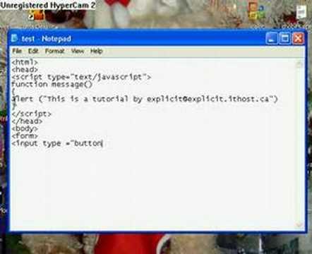 JavaScript Tutorial 1: Functions