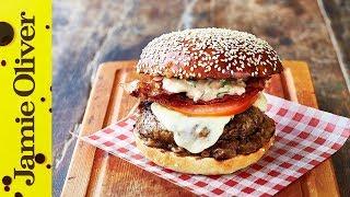 Jamie's Italian Burger | Jamie Oliver & Gennaro Contaldo by Jamie Oliver