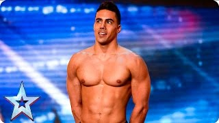 Video Saulo Sarmiento leaves the Judges feeling good | Auditions Week 6 | Britain's Got Talent 2016 MP3, 3GP, MP4, WEBM, AVI, FLV Desember 2018