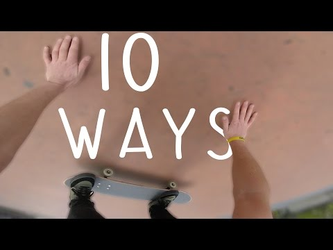 10 Ways to Stop on your Skateboard