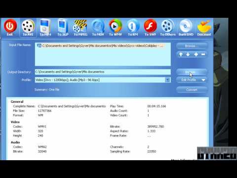 Convierte videos con Video Convert Master