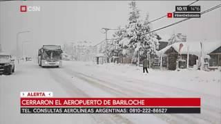 Cerraron el aeropuerto de Bariloche
