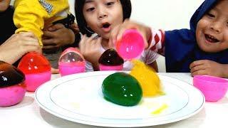 Video Wow Surprise Egg Jelly Rainbow Bikinan Wa Neng Bagus & Enak Banget MP3, 3GP, MP4, WEBM, AVI, FLV September 2018