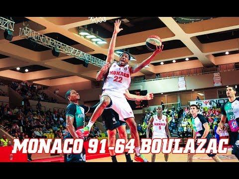 Pro A — Monaco 91 - 64 Boulazac — Highlights