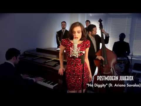 No Diggity - Vintage Jessica Rabbit- Style Blackstreet Cover ft. Ariana Savalas (видео)