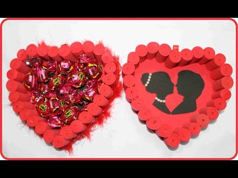 Imagens de dia dos pais - Coma fazer um coração com rolinhos de EVA para o dia dos namorados