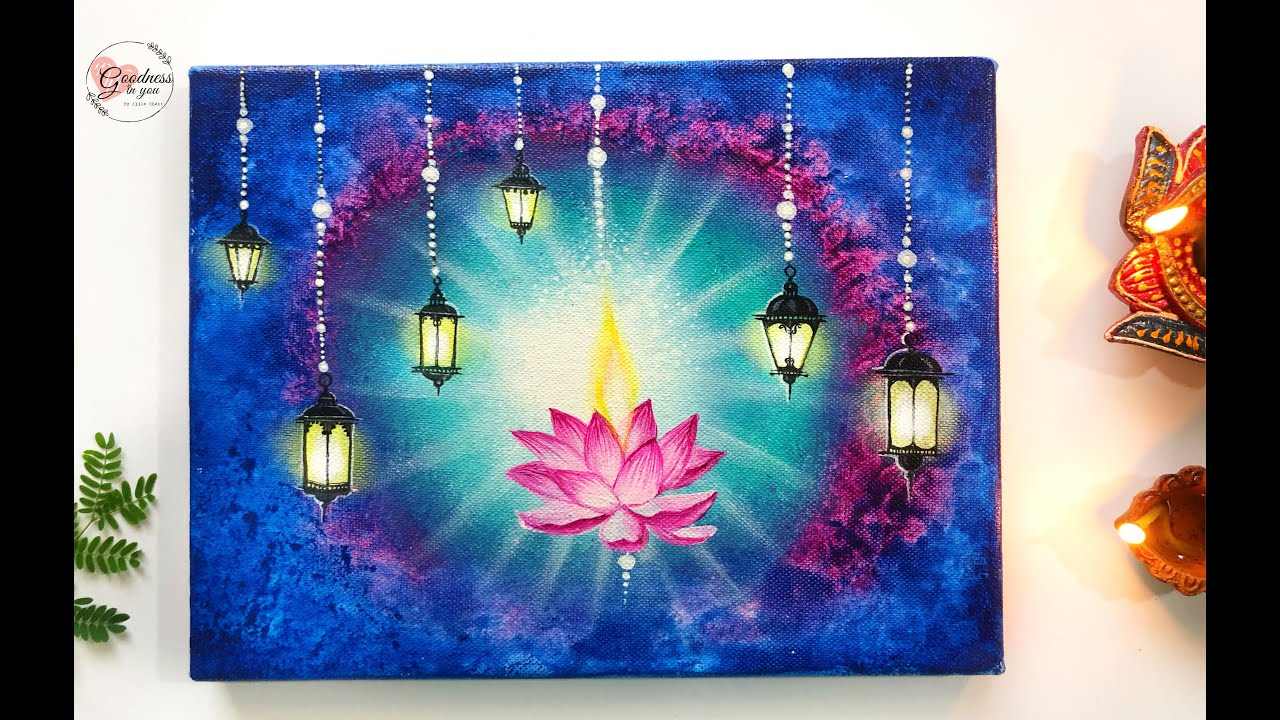 painting for diwali special day by goodness in you