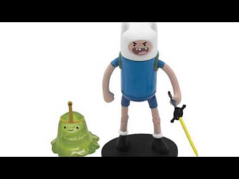 Video YouTube video ad for the Finn 3 Action Figure With Slimeprincess