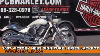 2. Used 2007 Victory Ness Signature Series Jackpot Motorcycles for sale