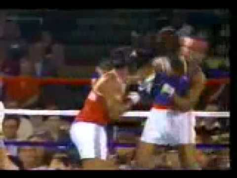 Boxen: Teofilo Stevenson vs Tyrell Biggs USA 1984 (complet fight)
