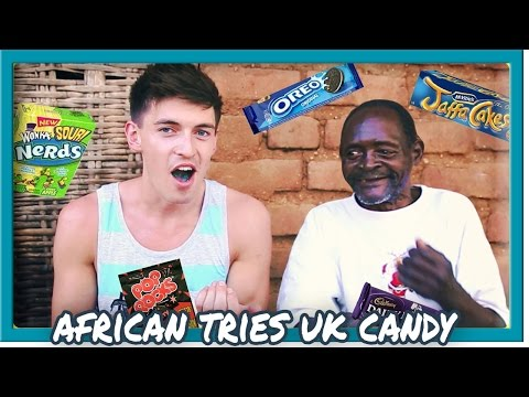 food - I went to Malawi, Africa and did the UK vs USA food/candy challenge with a local African, Winesi March, things he'd never seen/eaten before! ➨ SUBSCRIBE to see more: http://bit.ly/SubDoug...