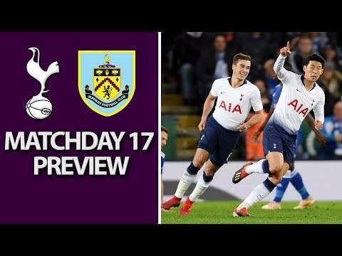 Video: Tottenham v. Burnley | PREMIER LEAGUE MATCH PREVIEW | 12/15/18 | NBC Sports