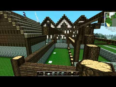 Ciudad Medieval Minecraft || La Ciudad Parte 3 || Empieza lo buenoo¡