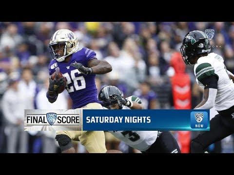 Highlights: No. 23 Washington football bounces back, routs Hawai'i by 32 points
